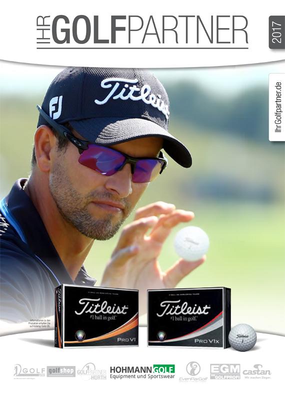Golf Katalog 2017 Cover